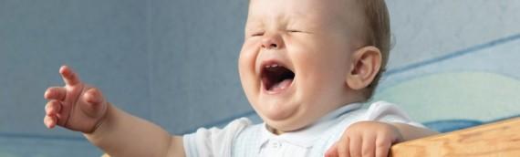 Vous pouvez calmer avec les fleurs de Bach un bébé pleurnicheur.